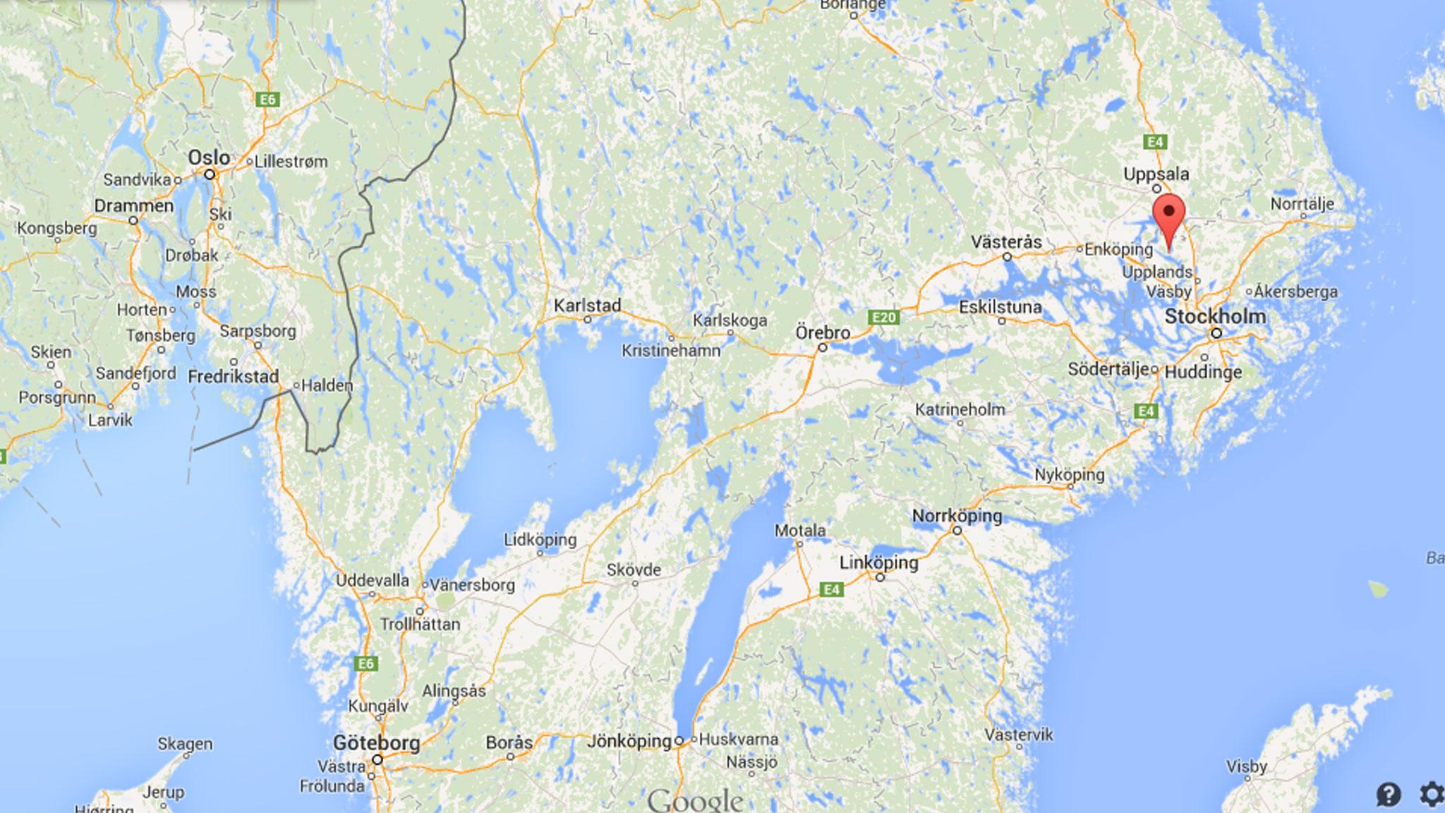 sigtuna karta Slavs in Sweden sigtuna karta